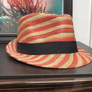 Striped Fidora Hat